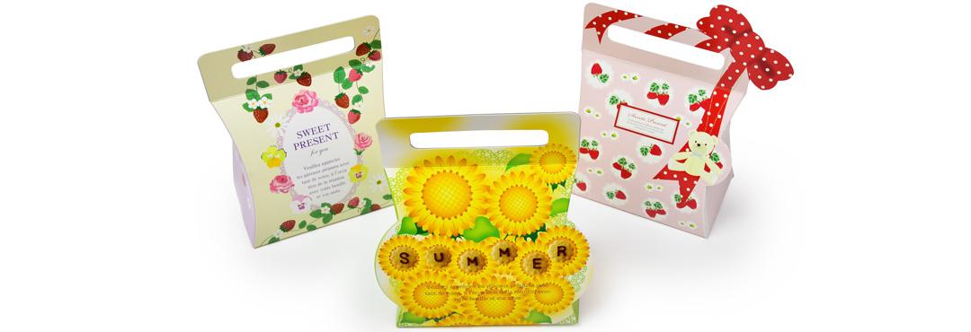 食品関連の包装資材の製造